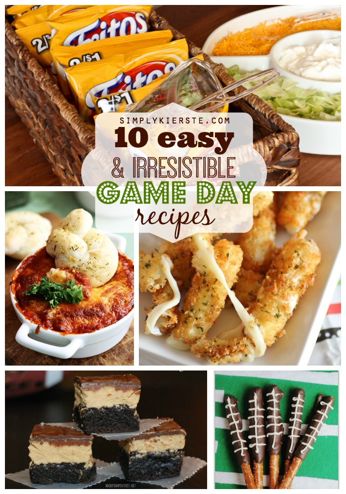 10 Easy & Irresistible Game Day Recipes | oldsaltfarm.com