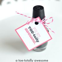 A toe-tally awesome valentine | oldsaltfarm.com