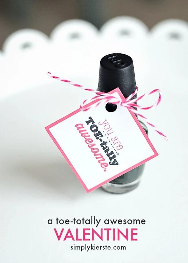 You are Toe-tally Awesome!! | Fingernail polish gift idea | oldsaltfarm.com