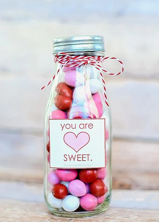 You are Sweet Valentine Treat Jar