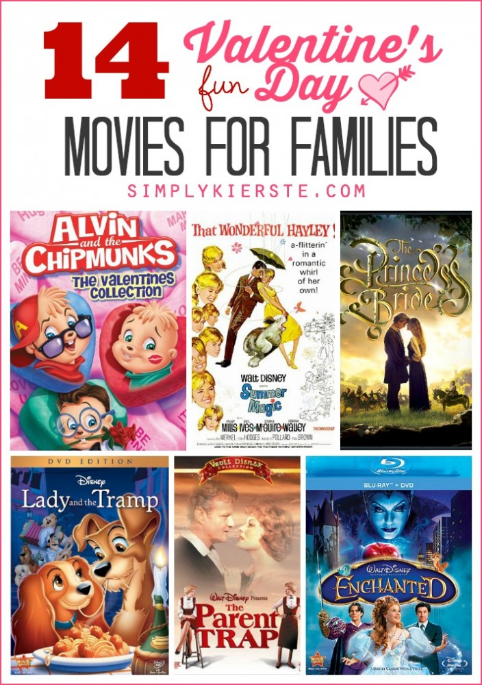 14 Fun Valentine's Day Movies for Families | oldsaltfarm.com