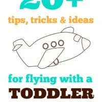 20+ Best Tips, Tricks, and Ideas for Flying with a Toddler | oldsaltfarm.com