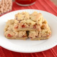 PB & J Cookie Bars | oldsaltfarm.com