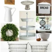 Favorite Farmhouse Style Decor...and where to find it!
