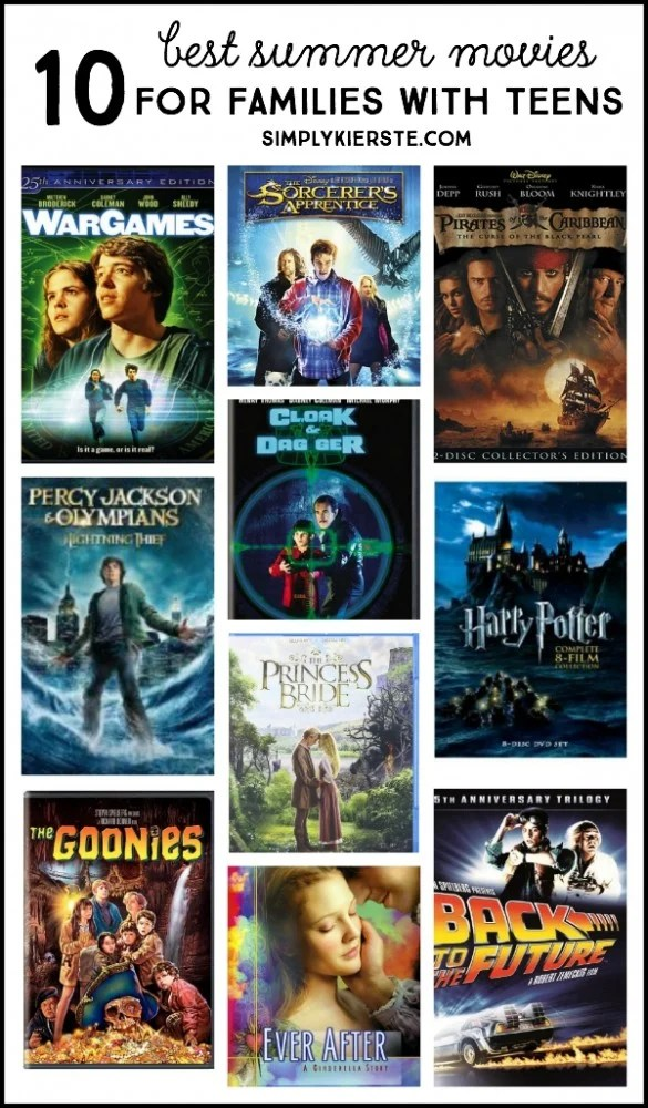 10 best summer movies for families with teens | oldsaltfarm.com