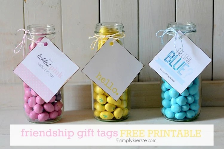 Friendship Gift Tags | free printable | oldsaltfarm.com