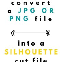 How to Convert a JPG into a Silhouette Cut File