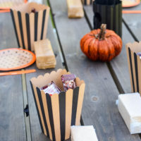 Haunted Gingerbread Houses with Hersheys | oldsaltfarm.com
