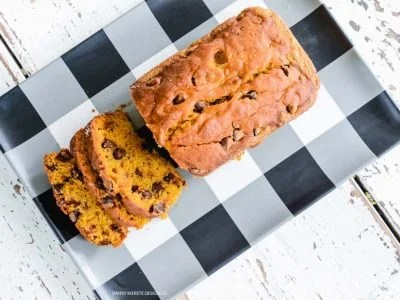 Chocolate Chip Pumpkin Bread | oldsaltfarm.com