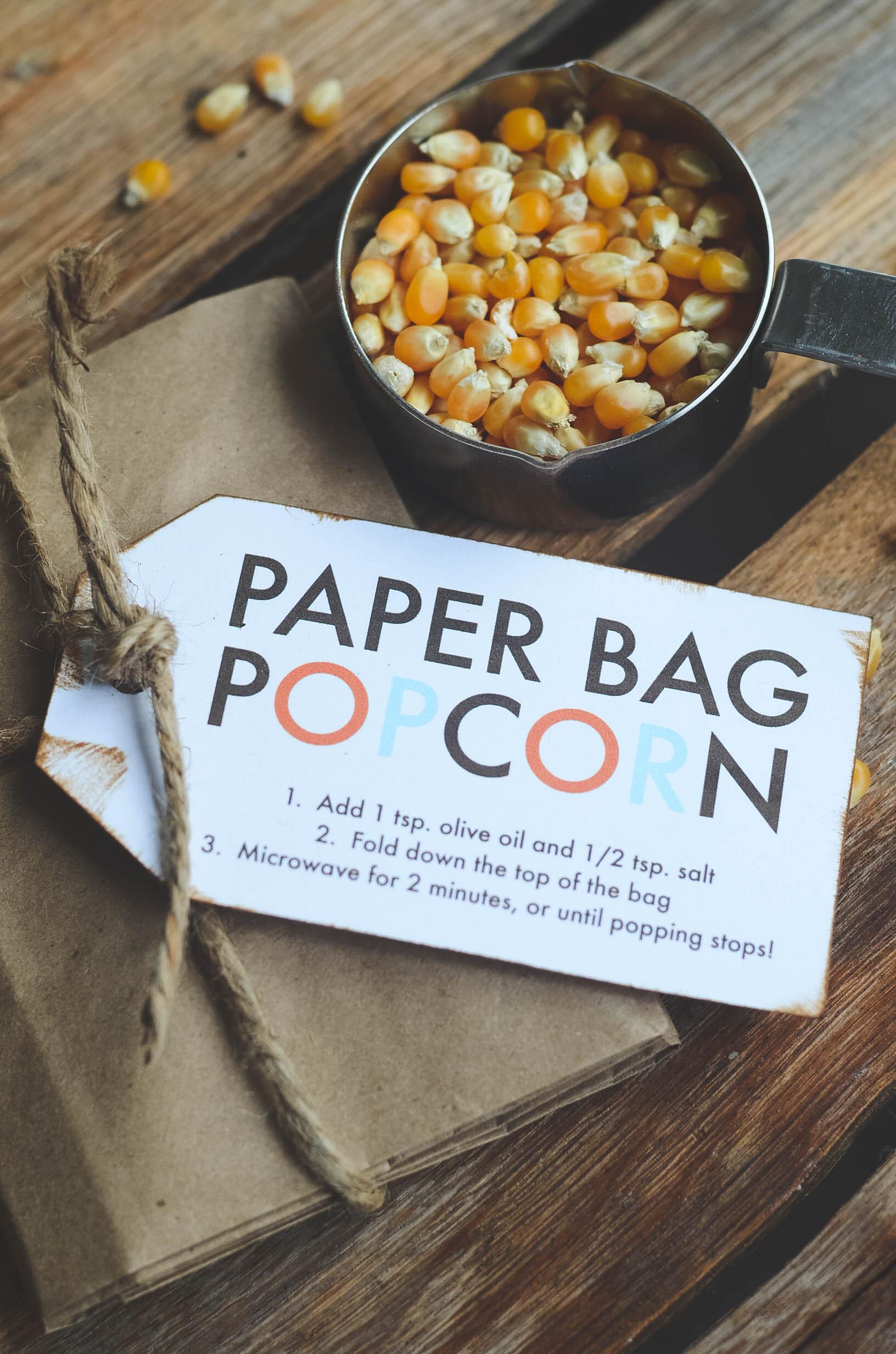 Paper Bag Popcorn   oldsaltfarm.com