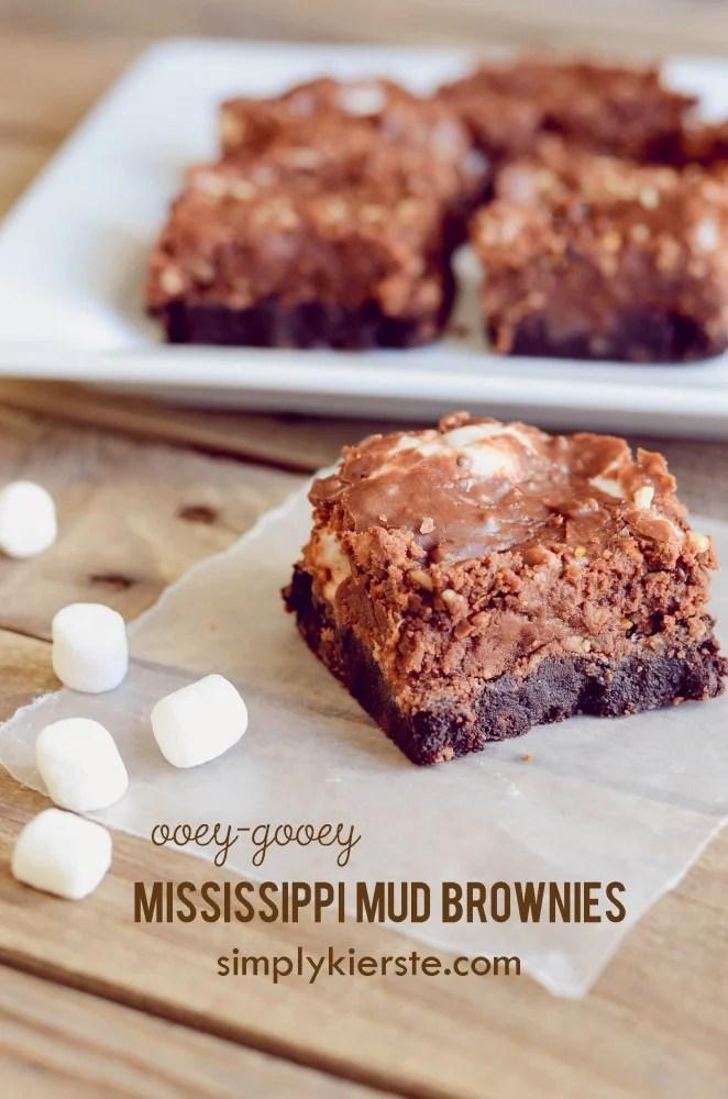 Mississippi Mud Brownies | oldsaltfarm.com
