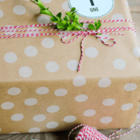 Gift Wrapping with Scotch Holiday Tape | oldsaltfarm.com