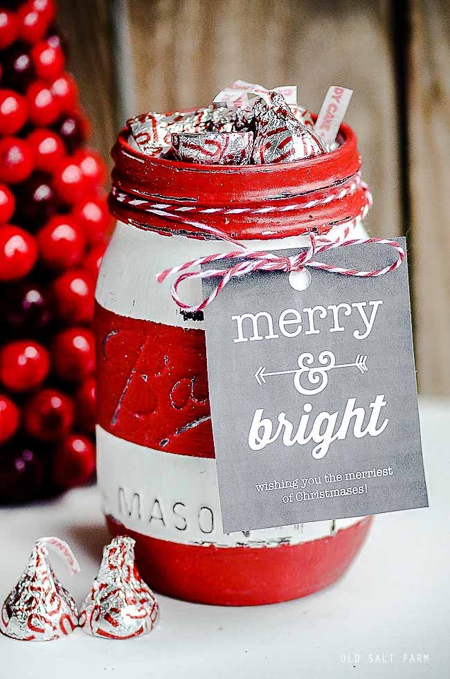 Easy Christmas Mason Jar Gift Ideas Old Salt Farm