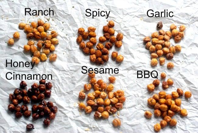 Roasted Chickpeas Recipe | oldsaltfarm.com