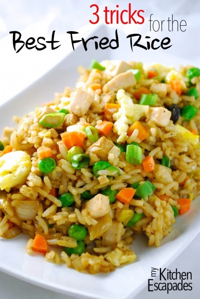 3 tips to making the best fried rice | oldsaltfarm.com