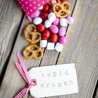 Cupid Crunch Trail Mix |Valentine's Day Snack| oldsaltfarm.com