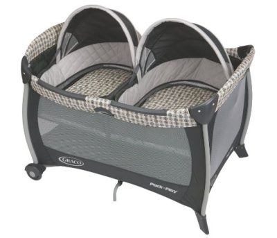 Pack 'n Play Twins Bassinet | Twins Must Haves | oldsaltfarm.com