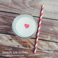 Heart Ice Cubes | oldsaltfarm.com