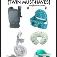 Expecting twins? Check out this list ofTwin Must Haves! | oldsaltfarm.com
