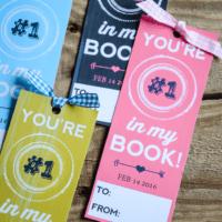 Printable Valentine Bookmark |Classroom Valentines | oldsaltfarm.com
