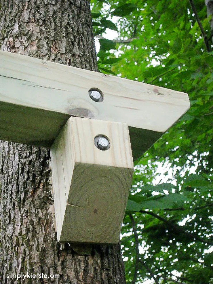 DIY Outdoor Baby Tree Swings | oldsaltfarm.com