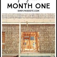 Building Old Salt Farm: Progress Month One | oldsaltfarm.com