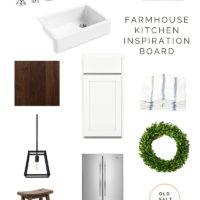 Farmhouse Kitchen Inspiration |Old Salt Farm | oldsaltfarm.com