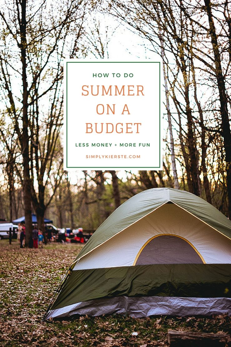 How to Do Summer on a Budget with Kids #summeronabudget #summerideas #cheapfreesummerideas #cheapsummerideas #freesummeractivities #funcheapfree #summerfun