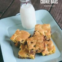 Easy Cake Mix Cookie Bars | oldsaltfarm.com