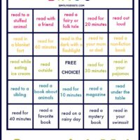 Summer Reading Bingo | oldsaltfarm.com
