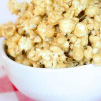 Caramel Marshmallow Popcorn | oldsaltfarm.com