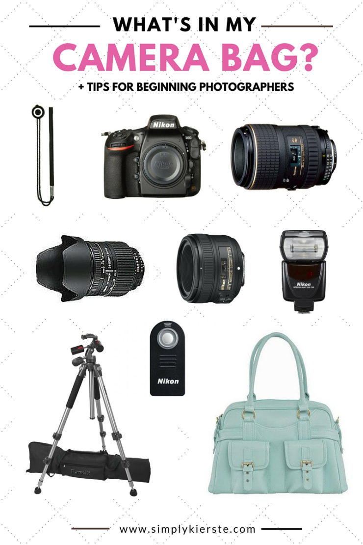 What's in my camera bag? +  Tips for Beginning Photographers! | oldsaltfarm.com