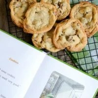 Toffee Chocolate Chip Cookies | oldsaltfarm.com