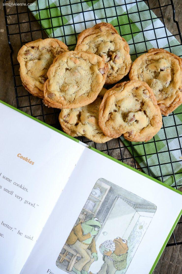 Toffee Chocolate Chip Cookies | oldsaltfarm.com