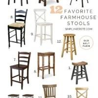 Favorite Farmhouse Stools | oldsaltfarm.com