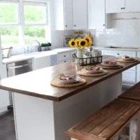 Farmhouse Kitchen Sneak Peek | oldsaltfarm.com