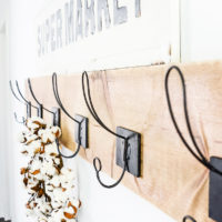 Easy DIY Wall Hooks | oldsaltfarm.com