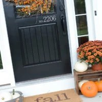 10 Minute Fall Welcome Mat | simply kierste.com