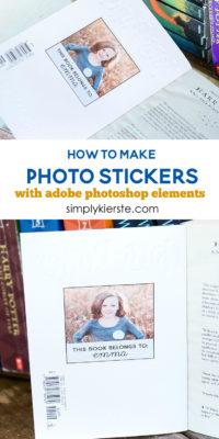 How to Make Photo Stickers with Adobe Photoshop Elements | oldsaltfarm.com
