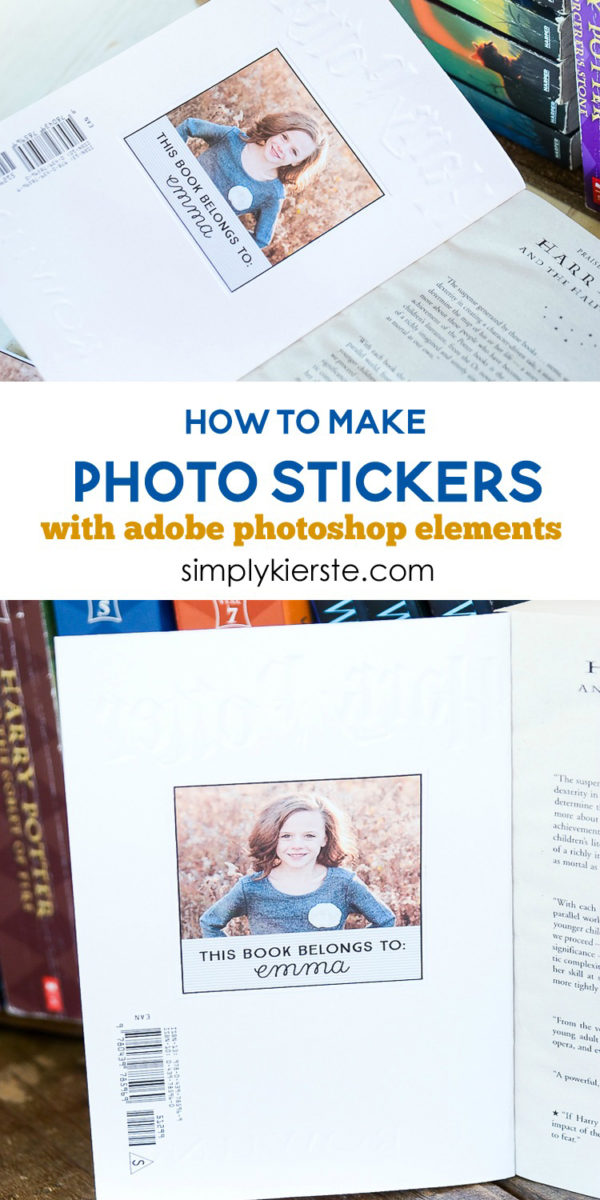 How to Make Photo Stickers with Adobe Photoshop Elements | oldsaltfarm.com