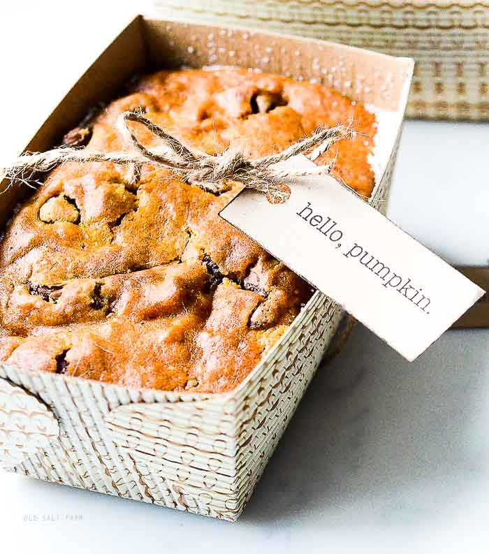 Pumpkin Bread Gift idea