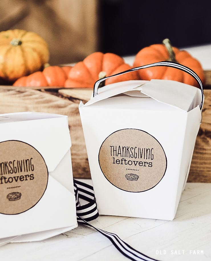 Thanksgiving Leftovers Printables