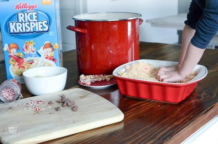 Chocolate Peppermint Rice Krispies Pops | oldsaltfarm.com