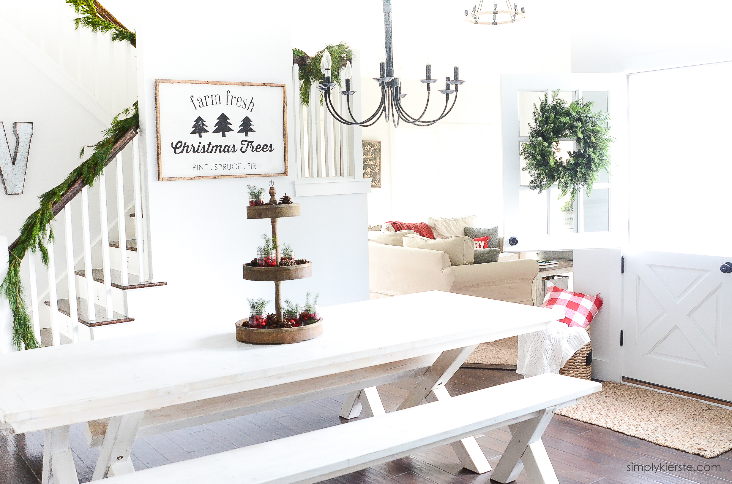 Old Salt Farm Christmas Home Tour | oldsaltfarm.com