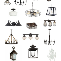 Farmhouse Lighting Old Salt Farm | oldsaltfarm.com