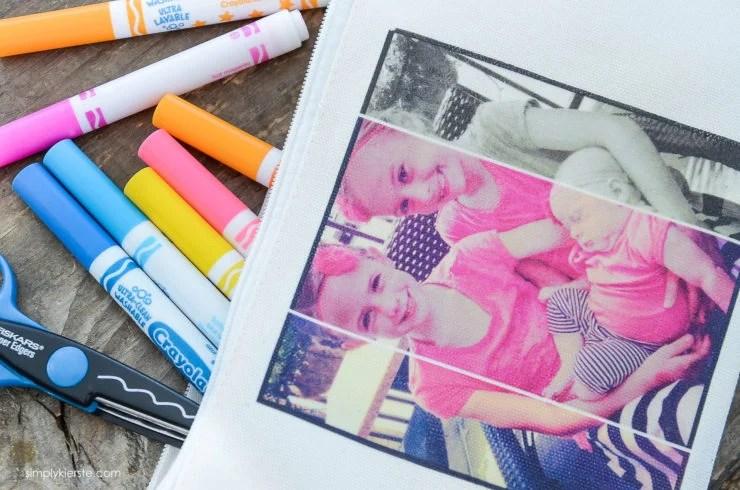 DIY Photo Pencil Pouch | simply kierste.com