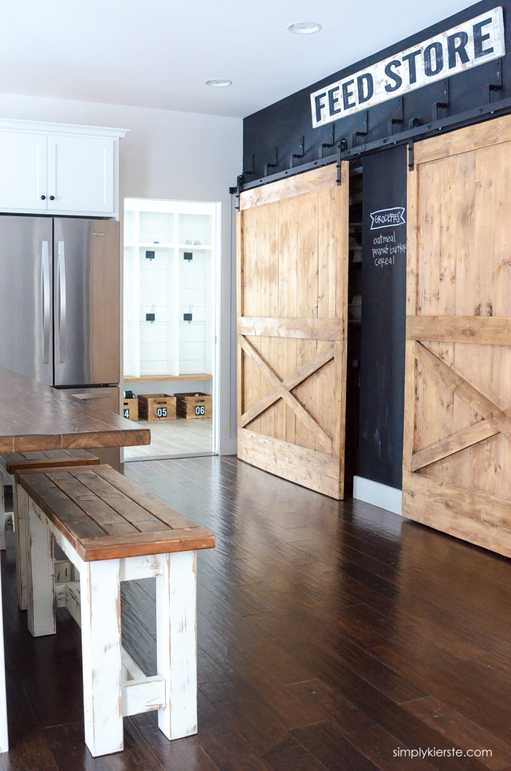 DIY Kitchen Benches   oldsaltfarm.com
