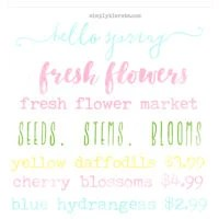 spring watercolor overlays | simply kierste.com