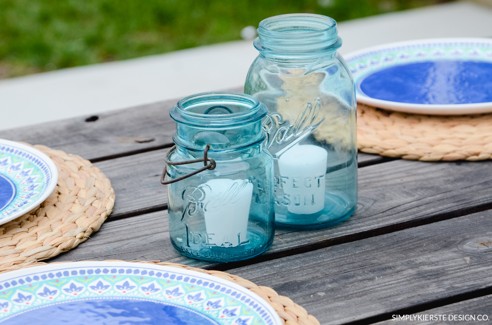 Farmhouse Summer Table | Favorite Galvanized Serving Pieces | simply kierste.com