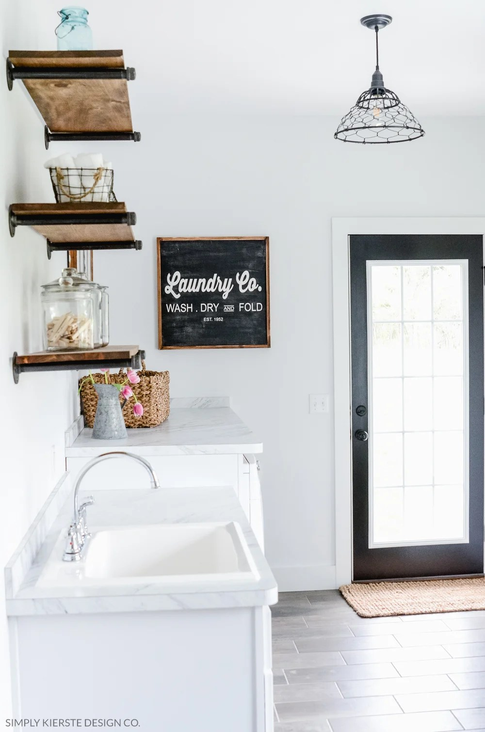 DIY Farmhouse Shelves | oldsaltfarm.com